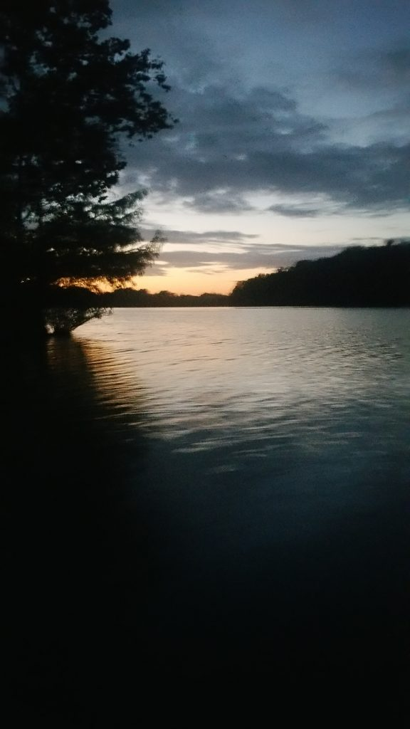 Sunset in Autauga County