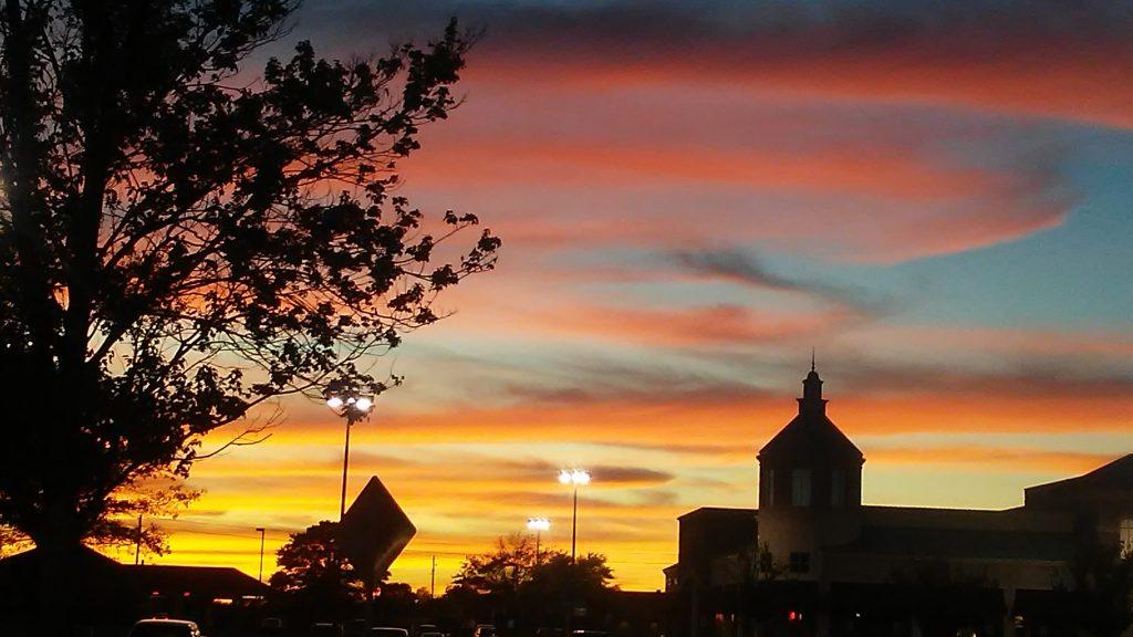East Side Sunset