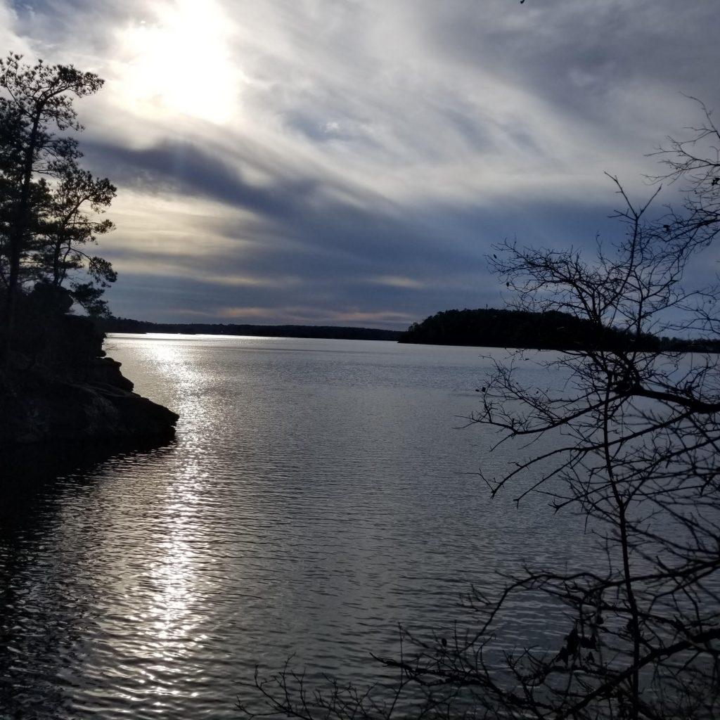 Dusk at Lake Martin