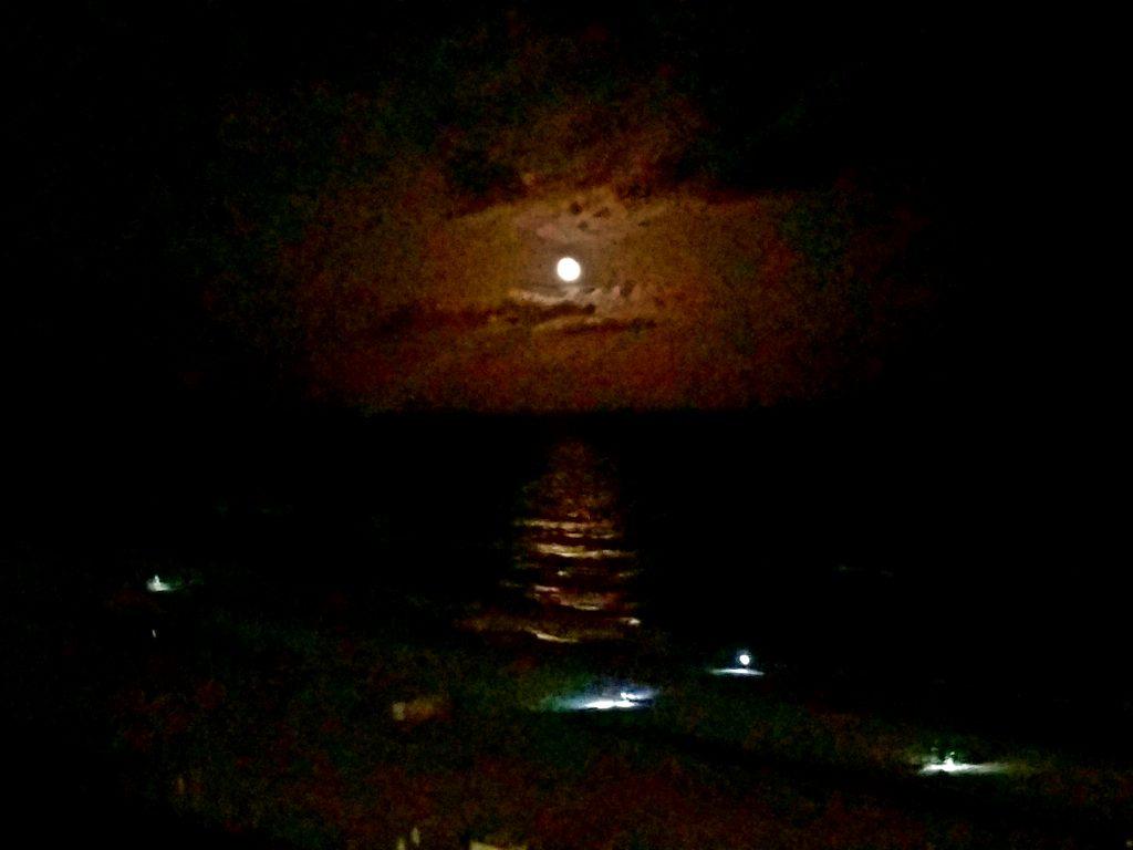 Moon Over Gulf Shores