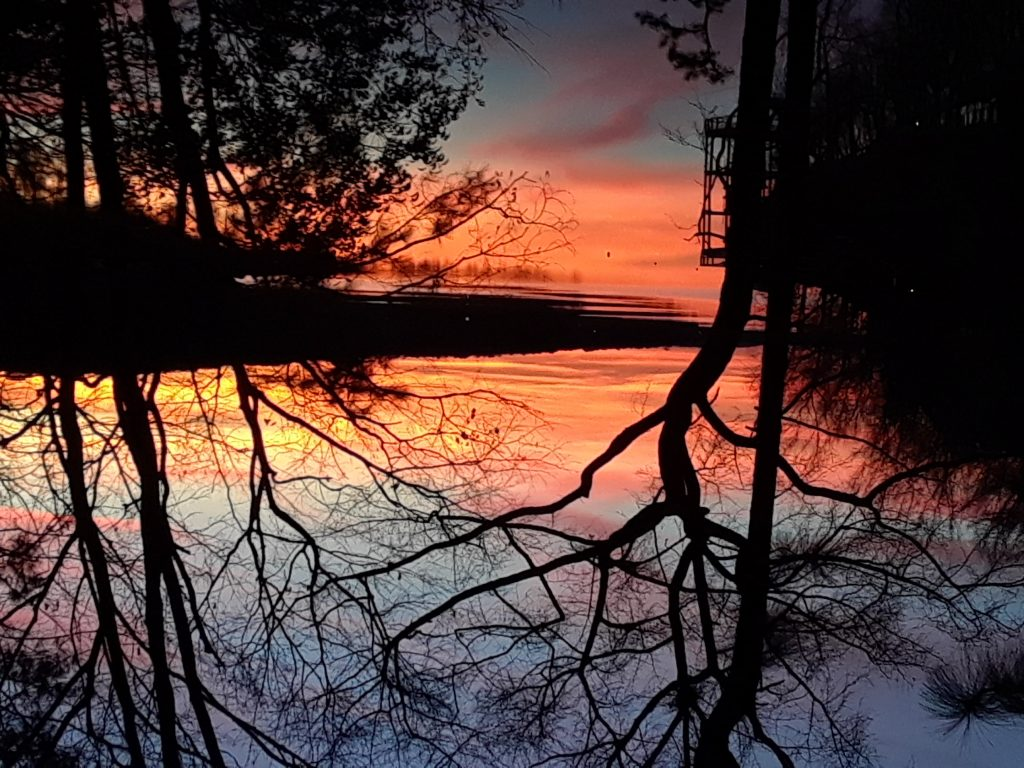 Sunset Lake Martin