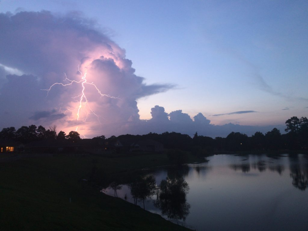 Storm Over Auburn (Looking from Lake Martin)